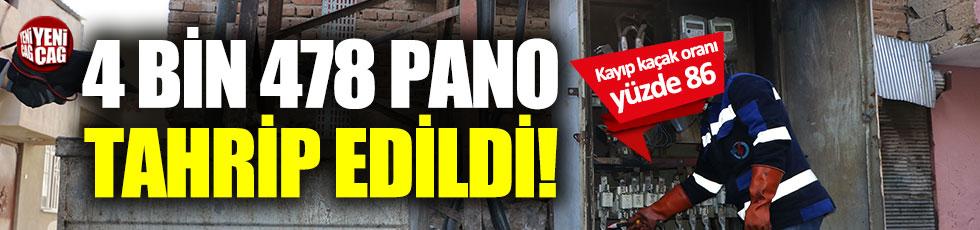Kaçak elektrik skandalı: 11 ayda, 4 bin 478 elektrik panosu tahrip edildi