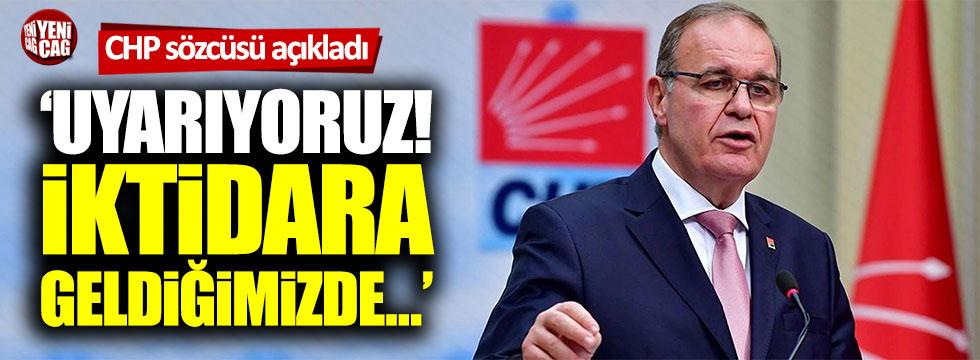 """CHP'li Faik Öztrak: """"Kanal İstanbul borçlarını ödemeyiz"""""""