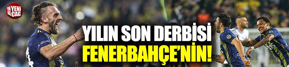 Fenerbahçe-Beşiktaş: 3-1 (Maç özeti)