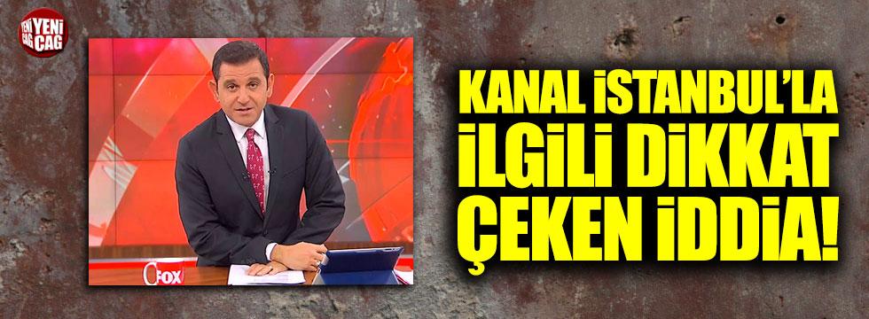 Fox TV sunucusu Fatih Portakal'dan Kanal İstanbul yorumu