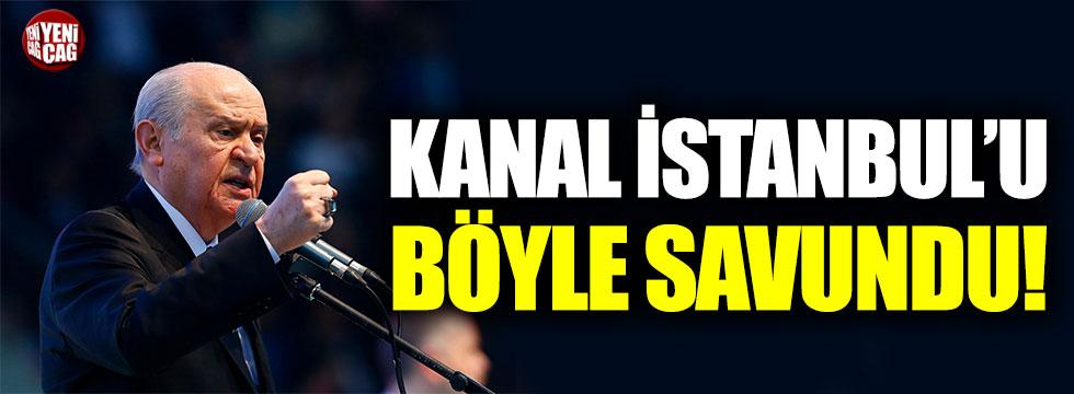 Devlet Bahçeli'den Kanal İstanbul açıklaması