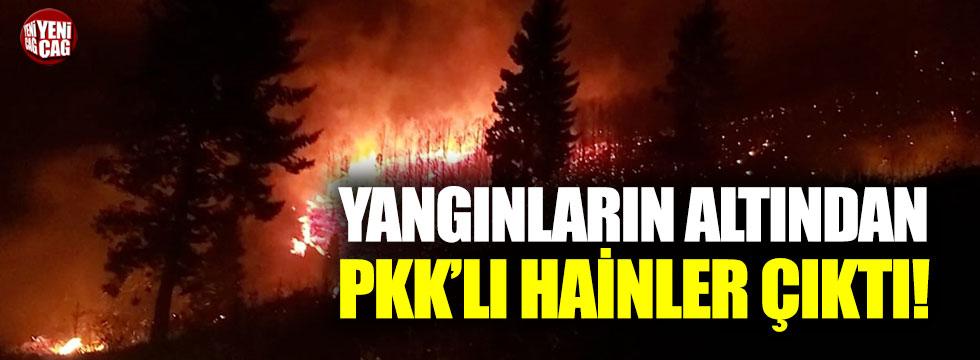 Karadeniz'deki orman yangınlarını PKK üstlendi