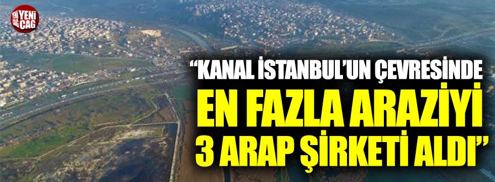 """Ekrem İmamoğlu: """"Kanal İstanbul'un çevresinde en fazla araziyi Araplar aldı"""""""