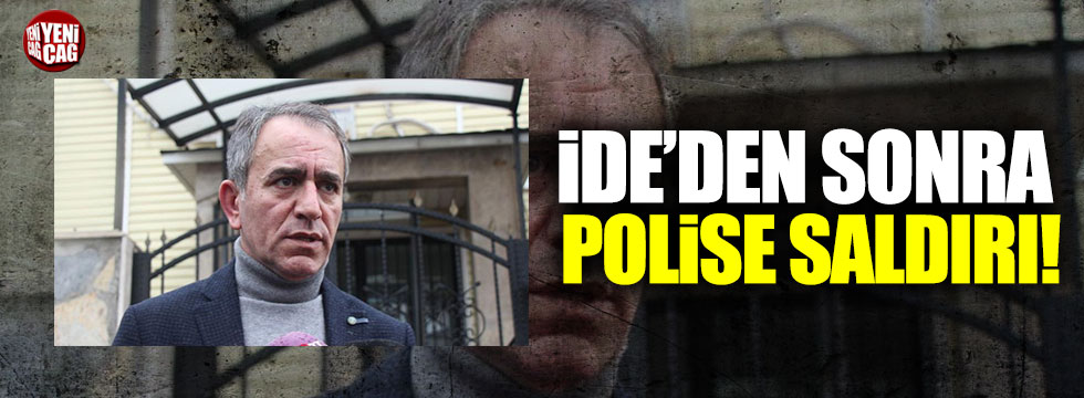 Murat İde'ye saldıranlardan biri polise tokat attı