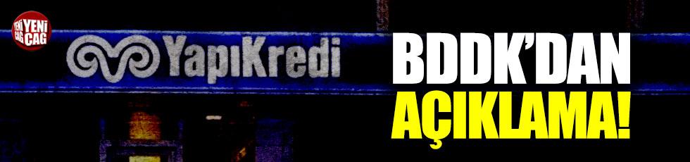 BDDK'den Yapı Kredi kararı