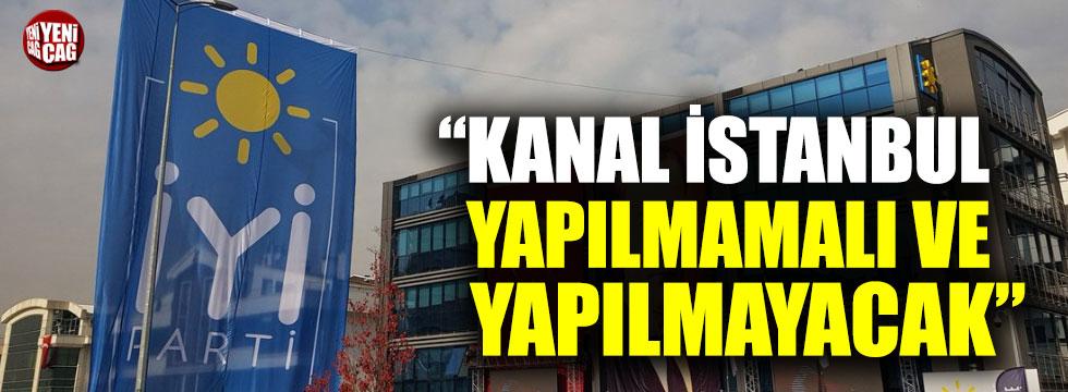 Hayrettin Nuhoğlu: Kanal İstanbul yapılmamalı ve yapılmayacak