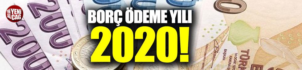 Borç ödeme yılı:2020