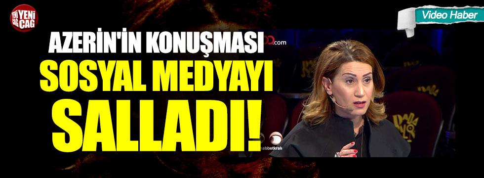 Azerin'in Türkçe çıkışı sosyal medyayı salladı