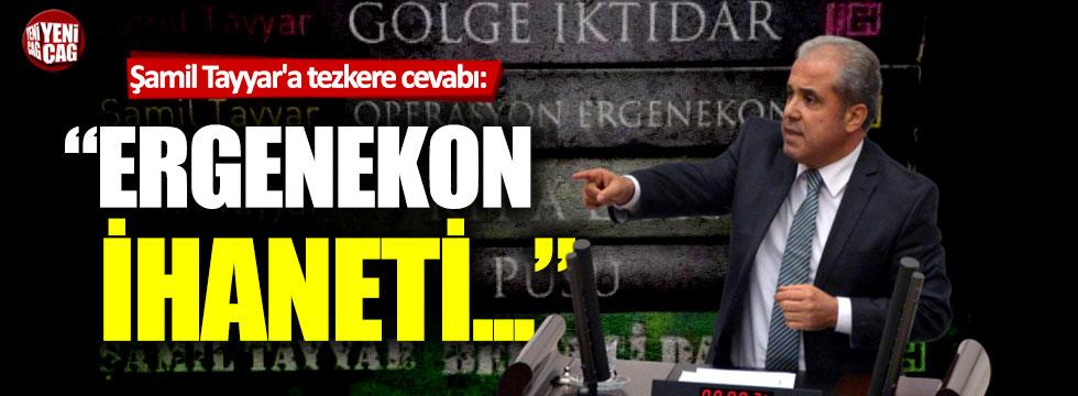 Metin Ergun'dan Şamil Tayyar'a sert cevap