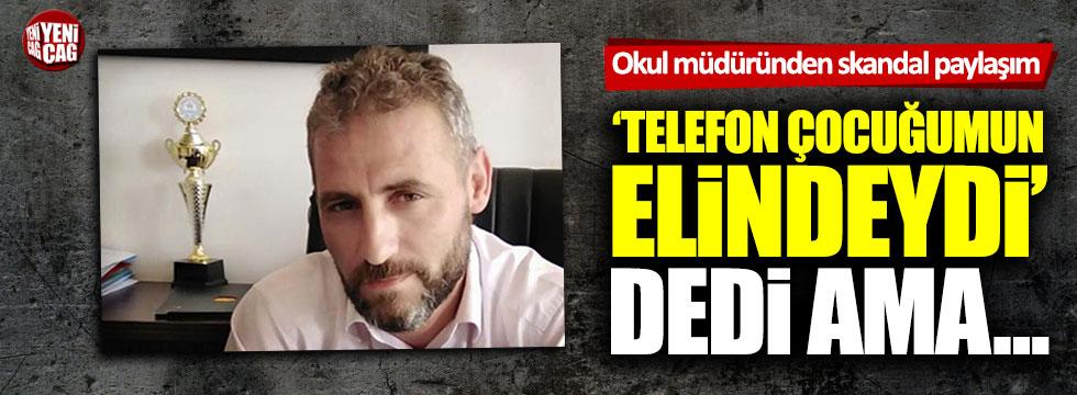Okul müdürü Cuma Ağca'nın Ekrem İmamoğlu paylaşımı tepki topladı