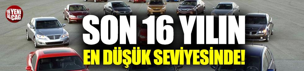 Otomotiv sektörü son 16 yılın en kötü seviyesinde!