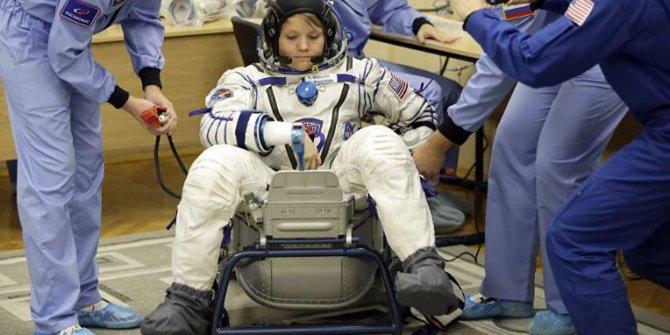 Uzaydaki astronotun hastalığına dünyadan müdahale!