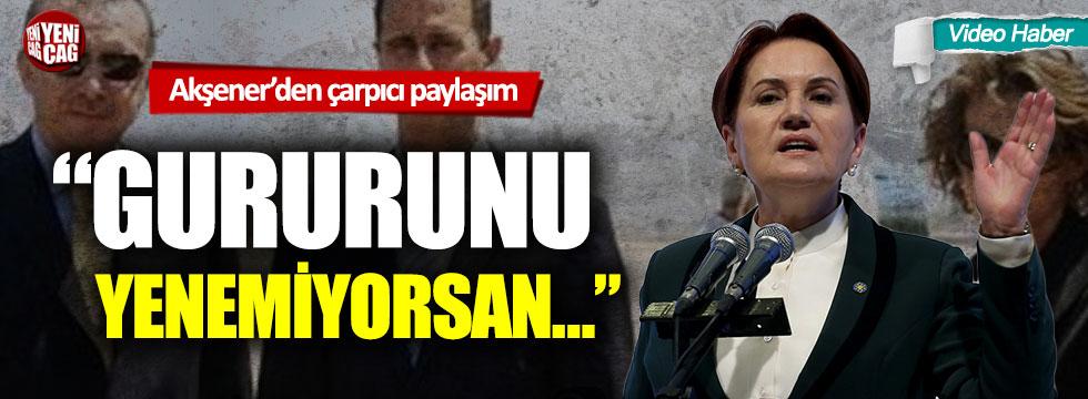 Meral Akşener'den Erdoğan'a Suriye çağrısı