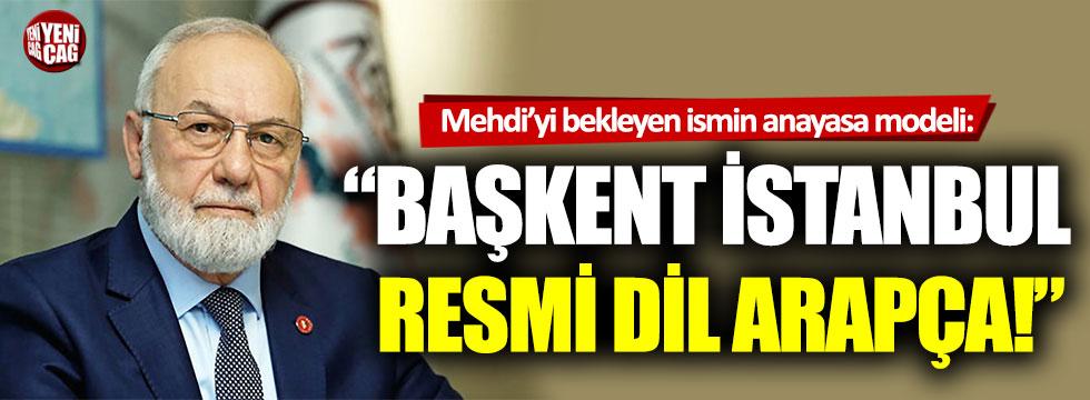 Adnan Tanrıverdi'nin anayasa modeli: Başkent İstanbul, resmi dil Arapça!