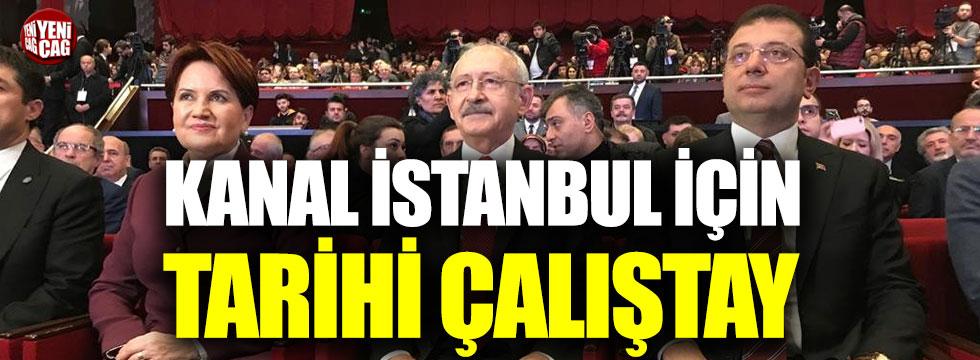 Kanal İstanbul için tarihi çalıştay