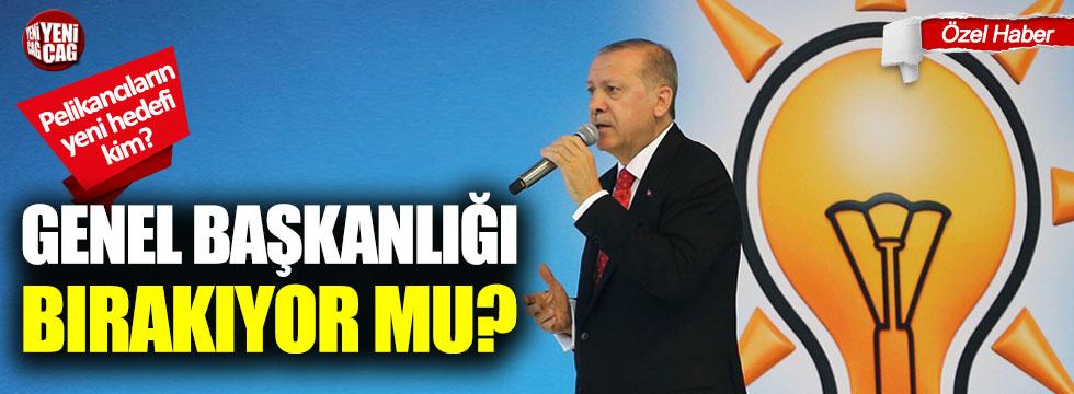Tayyip Erdoğan, AKP Genel Başkanlığı'nı bırakıyor mu?