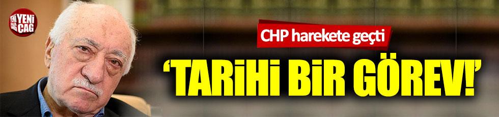CHP FETÖ'nün siyasi ayağının araştırılması için teklif sundu
