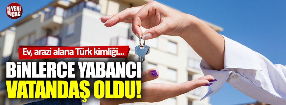 7 bin yabancıya Türk vatandaşlığı