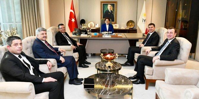 CHP'li Başkan'dan Meral Akşener'e ziyaret