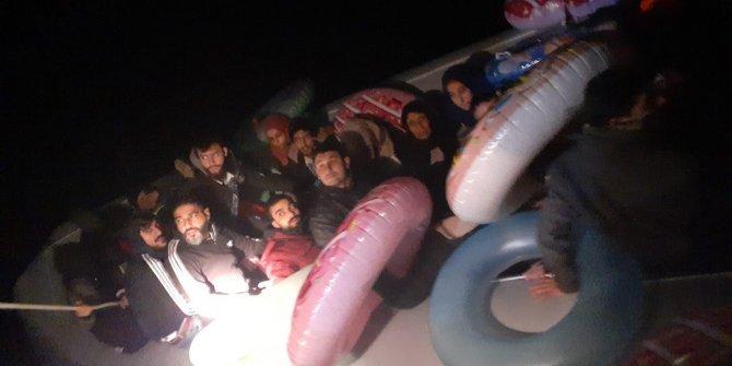 Bodrum'da 36 kaçak göçmen yakalandı