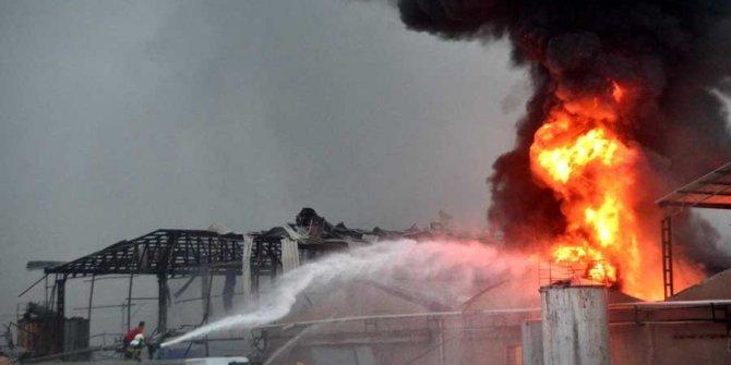 Katalonya'da patlama: Kimyasal alarmı
