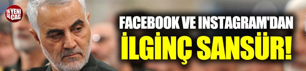 Facebook ve Instagram'dan Kasım Süleymani sansürü