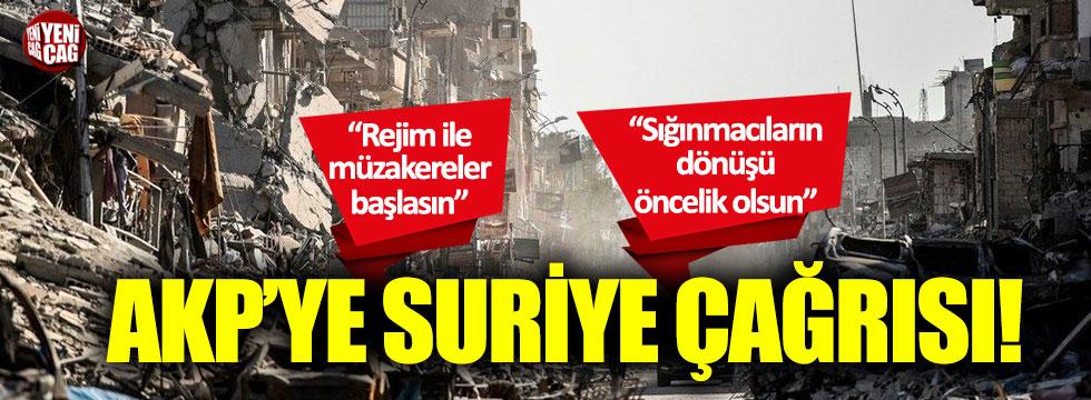 Aytun Çıray'dan AKP'ye Suriye çağrısı