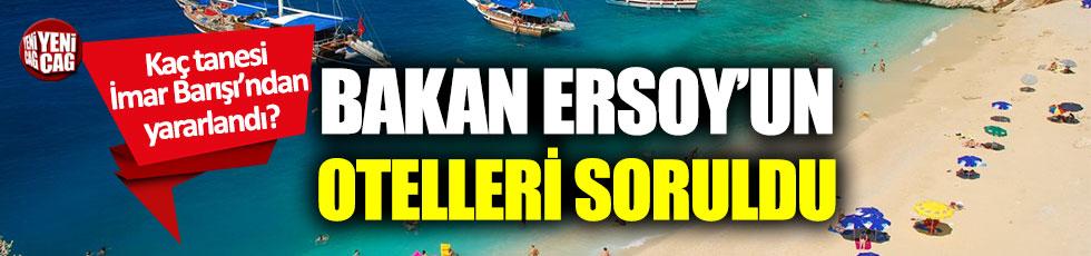 Bakan Mehmet Nuri Ersoy'un şirketi meclis gündeminde