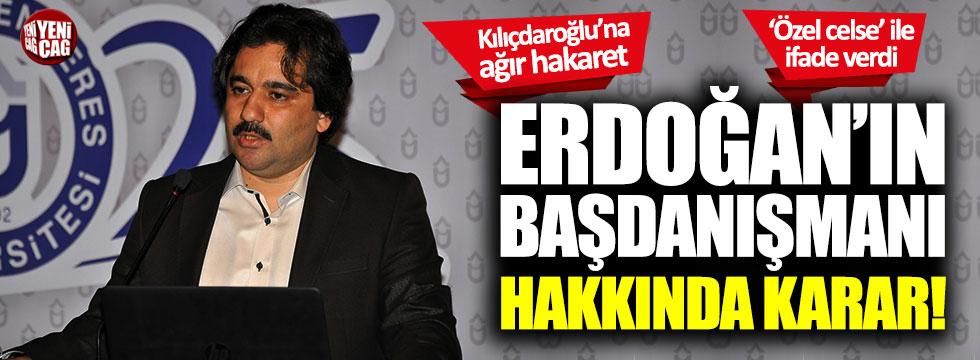 Tayyip Erdoğan'ın başdanışmanı Mücahit Küçükyılmaz'a beraat