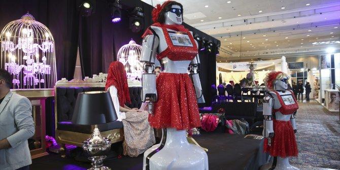 Konya'da üretilen robotlar kına gecelerinde kullanılacak