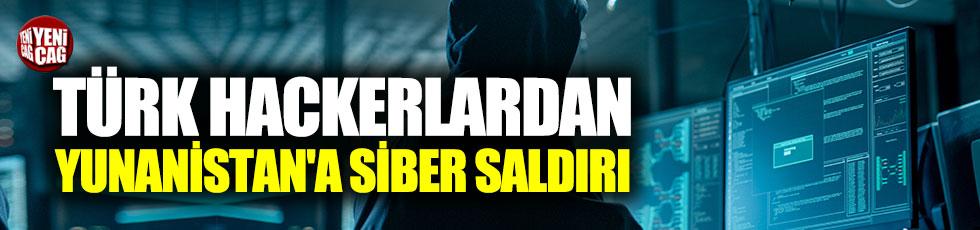 Türk hackerlardan Yunanistan'a siber saldırı