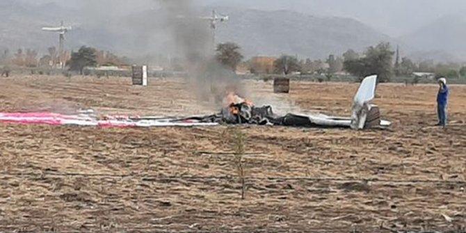Şili'de uçak kazası