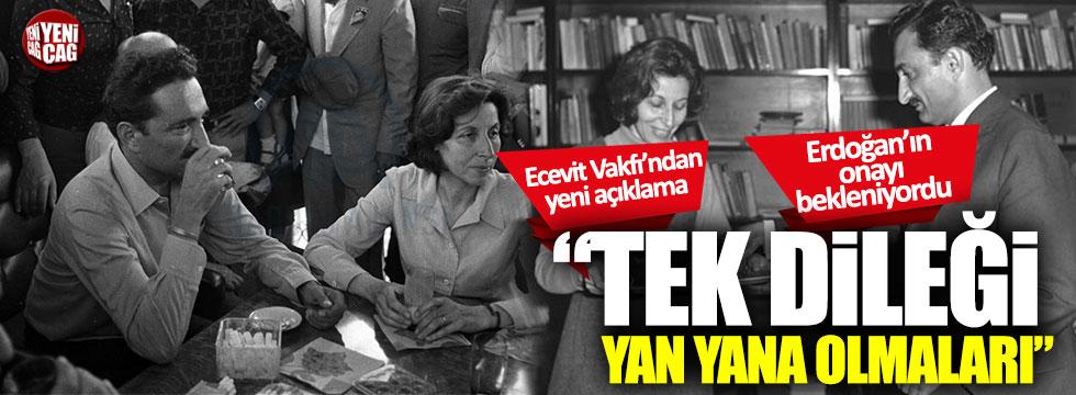 Rahşan Ecevit, Ankara'da Devlet Mezarlığı'na defnedilecek