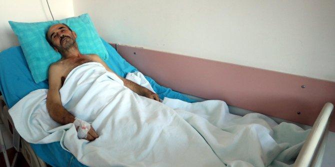 Karın ağrısıyla hastaneye gitti: 11 kiloluk kitle çıkarıldı