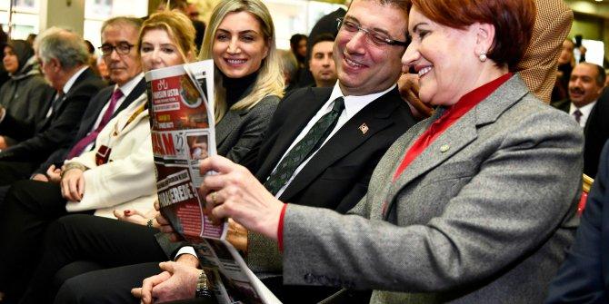 Meral Akşener ve Ekrem İmamoğlu'nu güldüren haber