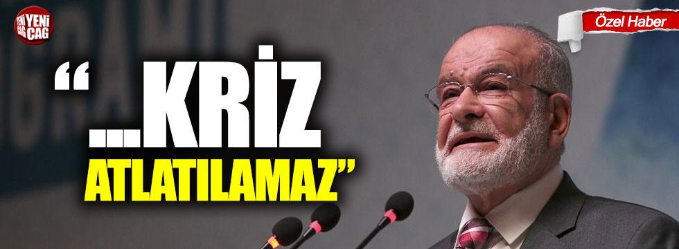 """Temel Karamollaoğlu: """"Kanal rant projesidir üretmeden krizden çıkamayız"""""""