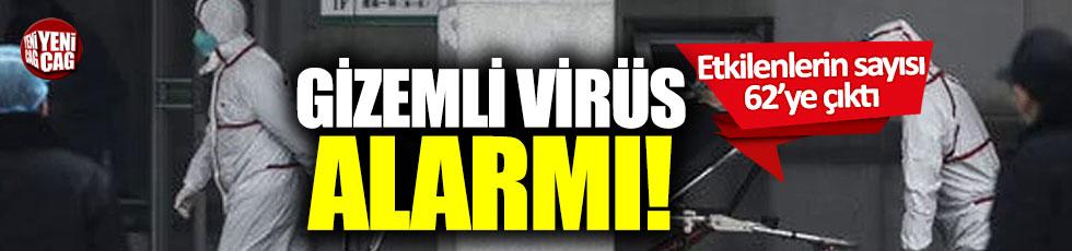 Gizemli virüs alarmı!