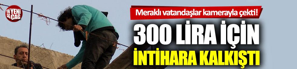 300 lira için intihar girişiminde bulundu