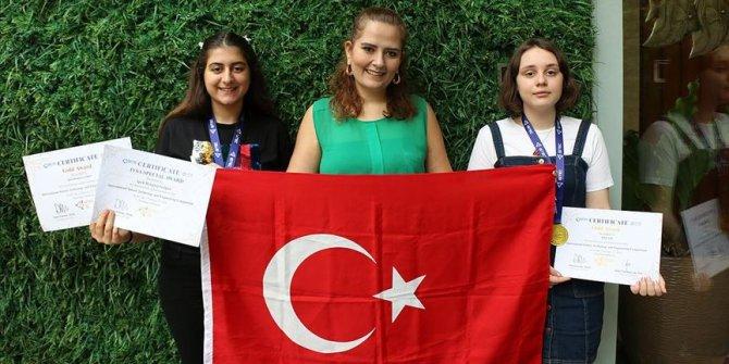Türk öğrencilere uluslararası bilim yarışmasında 2 altın madalya