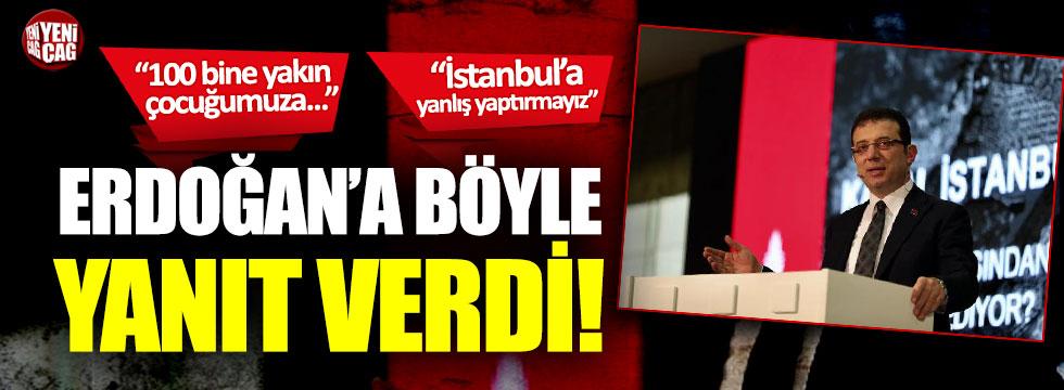 Ekrem İmamoğlu'ndan Erdoğan'a süt yanıtı