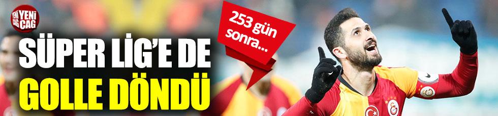 Emre Akbaba, Süper Lig'e golle döndü