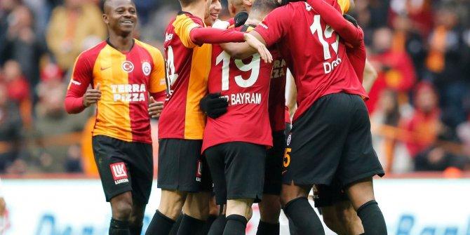 Galatasaray-Denizlispor: 2-1 (Maç özeti)