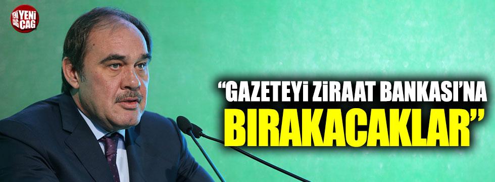 """Çınar Oskay: """"Gazeteyi Ziraat Bankası'na bırakacaklar"""""""