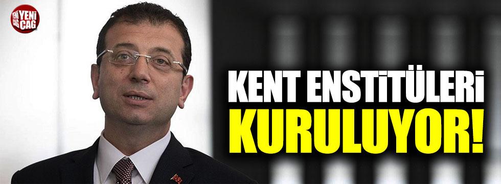 """Ekrem İmamoğlu: """"Kent Enstitüleri kuruyoruz"""""""