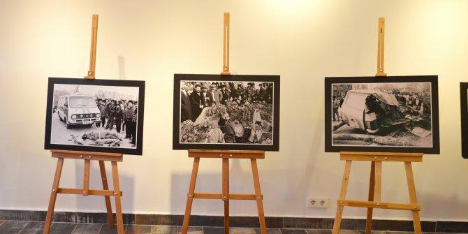 Azerbaycan 20 Ocak Katliamı konulu fotoğraf sergisi açıldı