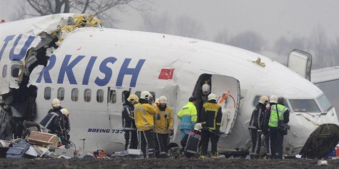 Kaza yapan THY uçağı ile ilgili flaş iddia: ABD'liler rapor için baskı yaptı!