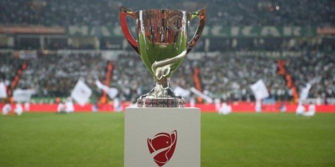 Ziraat Türkiye Kupası final tarihi belli oldu