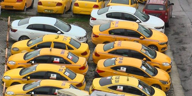 İstanbul'da taksi plakaları altından değerli