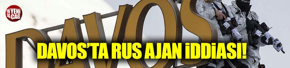 """Davos'ta """"Rus Ajan"""" iddiası"""