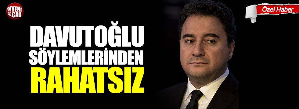 Ali Babacan, Davutoğlu söylemlerinden rahatsız